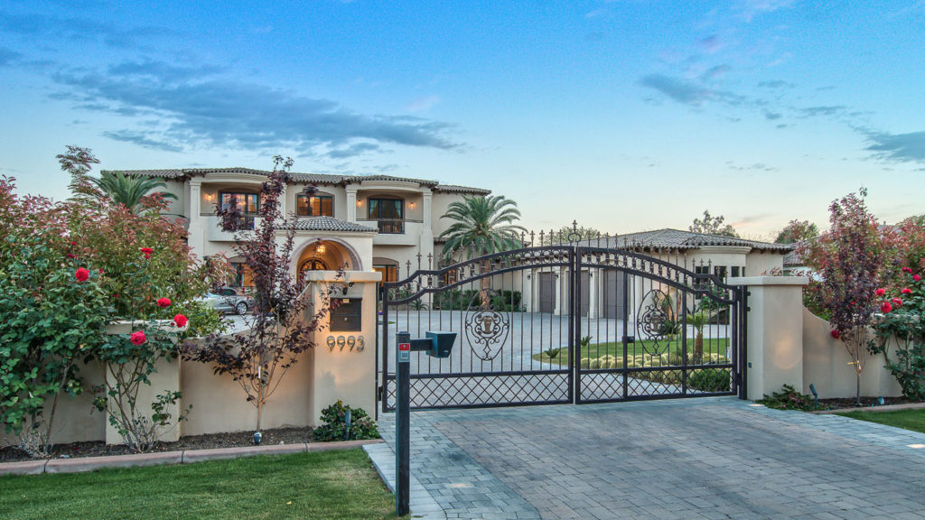 Good Integrity Luxury Homes Was Hired To Create A Mediterranean Estate Feel For  Their Client. With The Formal Entrance Gate To The Large Driveway And Porta  Cache ...
