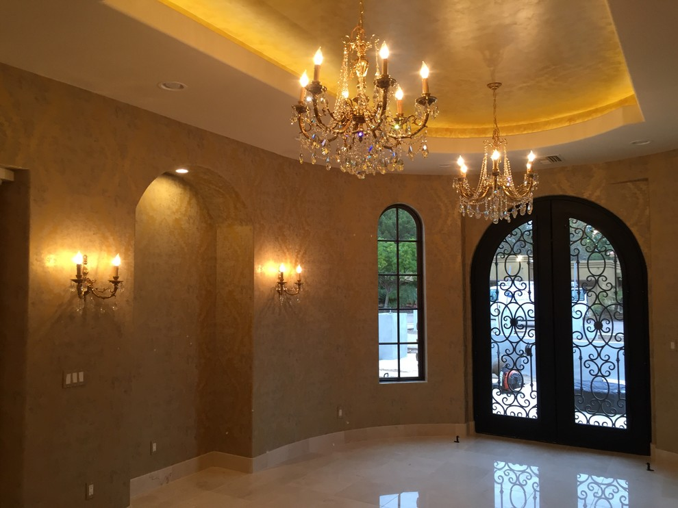 Tuscan Elegance Entry Interior