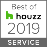 Awarded Best of Houzz 2019 Client Satisfaction