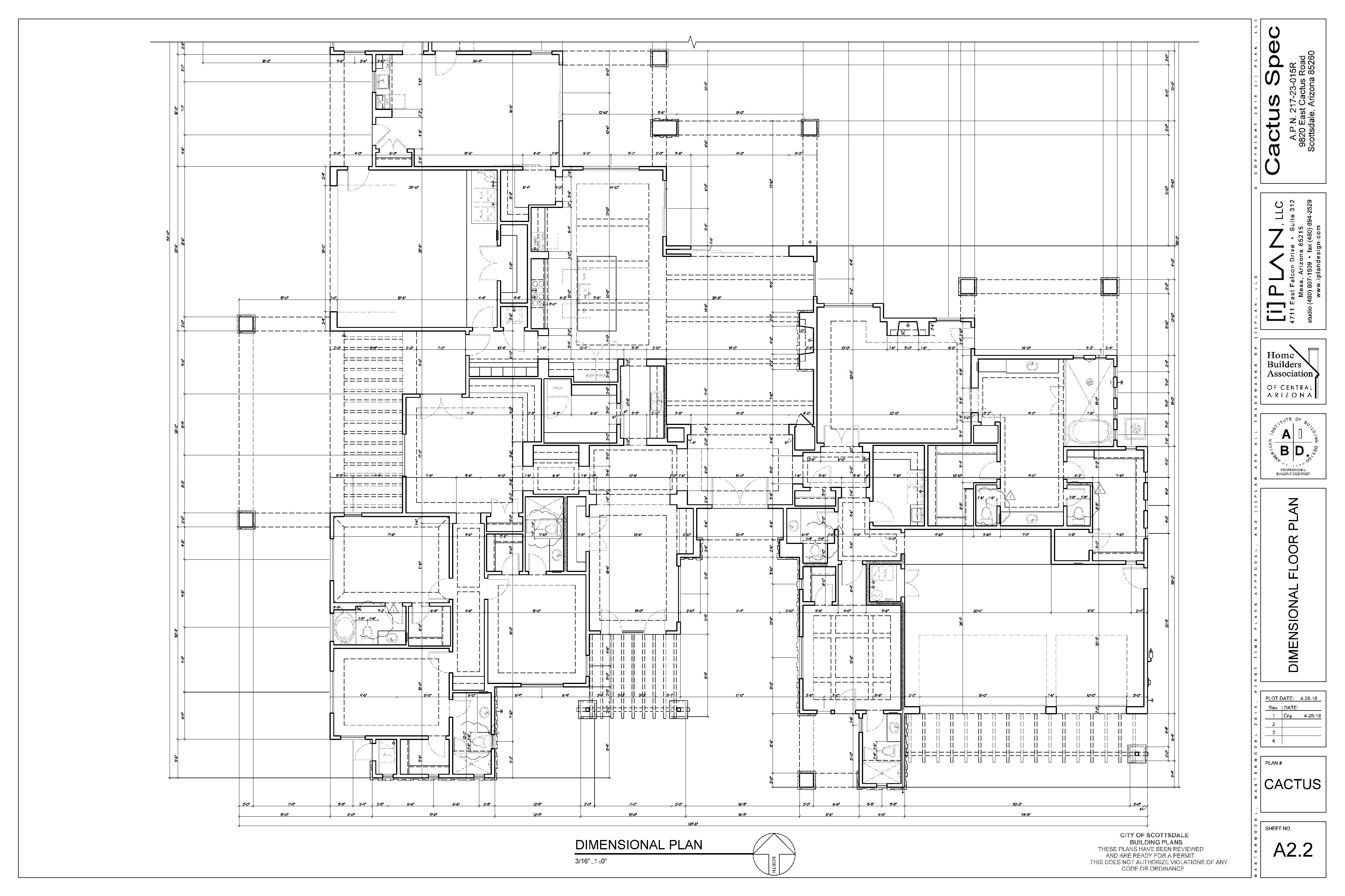 modern-french-farm 007-A2.2.Dimensional Floorplan