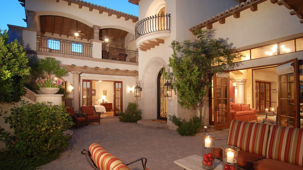 Spanish Colonial Custom Home