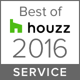 Awarded Best of Houzz 2016 Client Satisfaction