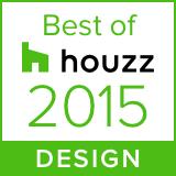 Awarded Best of Houzz 2015 Design